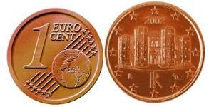 1 Eurocent Italy Steel/Copper