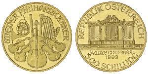 500 Shilling 奥地利 金