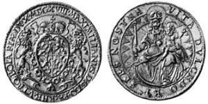 2 Ducat Duchy of Bavaria (907 - 1623) Gold