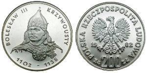 200 Злотый Польская Народная Республика (1952-1990)