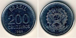 200 Cruzeiro Brésil Acier