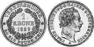 1 Krone Empire d