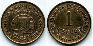 1 Escudo 葡屬幾內亞 (1474 - 1974) / 葡萄牙 青铜