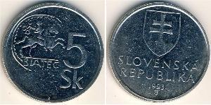 5 Krone Slovakia Nickel