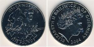 5 Фунт  Никель/Медь Елизавета II (1926-)