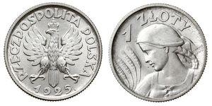 1 Zloty 波兰第二共和国 (1918 - 1939)