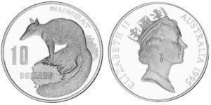 10 Dollar Australien (1939 - ) Silber Elizabeth II (1926-)