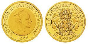 10 Krone Dinamarca Oro