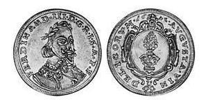 1 Ducat Imperial City of Augsburg (1276 - 1803) Gold Ferdinand III, Holy Roman Emperor (1608-1657)
