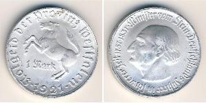 1 Mark Alemania Aluminio