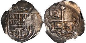 1 Real Virreinato de Nueva España (1519 - 1821) Plata Felipe II de España (1527-1598)