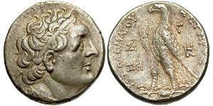 1 Tetradracma Período Helenístico (332BC-30BC) Plata Ptolomeo III Evergetes (282BC-222BC)