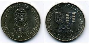100 Escudo Portugal / Madeira Copper/Nickel