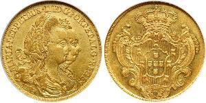 4 Escudo Royaume de Portugal (1139-1910) Or Pierre III de Portugal (1717-1786)