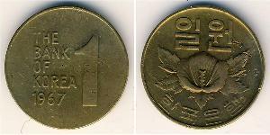 1 Won South Korea Ottone