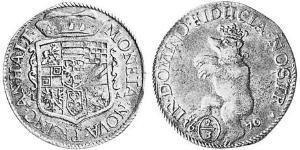2/3 Thaler Anhalt (1212 - 1806) Argento
