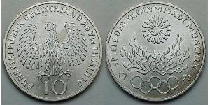 10 Mark West Germany (1949-1990)