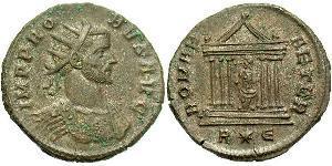 1 Antoniniano Imperio romano (27BC-395) Cobre/Plata Probo (232-282)