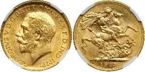 1 Sovereign Kanada Gold George V (1865-1936)