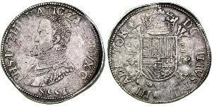 1 Daalder Kingdom of the Netherlands (1815 - ) Silver Philip II of Spain (1527-1598)