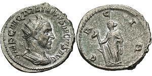 1 Antoninien Empire romain (27BC-395) Argent Trajan Dèce (201-251)