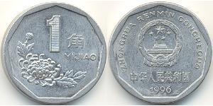 1 Джао Китайська Народна Республіка Алюміній