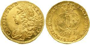 1 Ducat Sweden Gold Charles XI of Sweden (1655-1697)