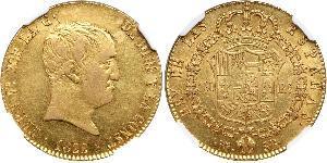 160 Real Kingdom of Spain (1814 - 1873) Or Ferdinand VII d