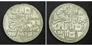 2 Zolota Osmanisches Reich (1299-1923) Silber Mustafa III. (1757 - 1774)
