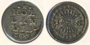 1 Stiver Dutch Republic (1581 - 1795) Silver