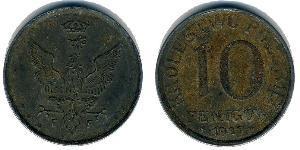 10 Pfennig Poland