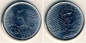 5 Centavo Brésil Acier