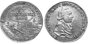 1/2 Thaler Prince-Bishopric of Bamberg (1245–1802) Silver