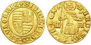 1 Gulden Royaume de Hongrie (1000-1918) Or Sigismund, Holy Roman Emperor (1368 -1437)