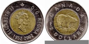 2 Доллар Канада Никель Елизавета II (1926-)