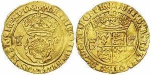 1 Крона(английская) Королевство Англия (927-1649,1660-1707) Золото Генрих VIII (1491 - 1547)