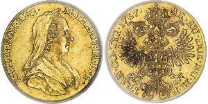 1 Ducat Heiliges Römisches Reich (962-1806) Gold Maria Theresa of Austria (1717 - 1780)