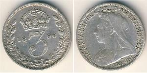 Penny United Kingdom of Great Britain and Ireland (1801-1922) Silver Victoria (1819 - 1901)