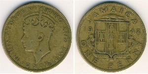 1 Penny Jamaica (1962 - ) Latón