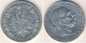 5 Krone Österreich Silber