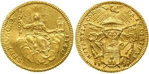 1 Zecchino Kirchenstaat (752-1870) Gold