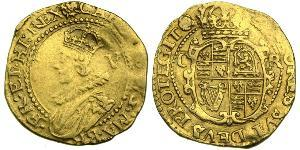 1 Crown Kingdom of England (927-1649,1660-1707) Gold Charles I (1600-1649)