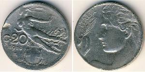 20 Centesimo Kingdom of Italy (1861-1946) Nickel