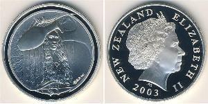 1 Dollar New Zealand Silver
