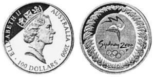 100 Доллар Австралия (1939 - ) Золото