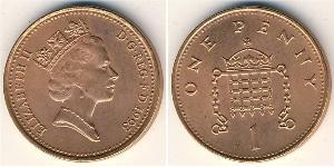 1 Penny 英国 青铜