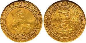 1 Соверен Королівство Англія (927-1649,1660-1707) Золото Едвард VI  (1537-1553)
