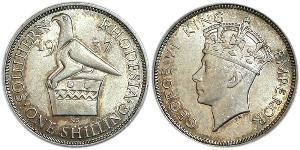 1 Шилінг Велика Британія (1922-) Срібло Георг VI (1895-1952)
