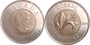 2 Dollaro Canada Nichel Elisabetta II (1926-)