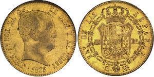 320 Real Kingdom of Spain (1814 - 1873) Gold Ferdinand VII. von Spanien (1784-1833)